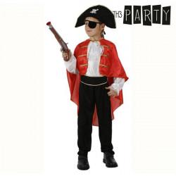 """Fantasia para Crianças Capitão pirata """"3-4 Anos"""""""