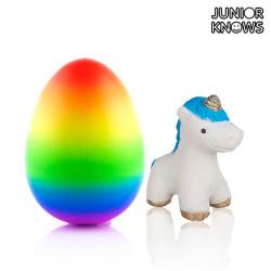Huevo con Unicornio Junior Knows
