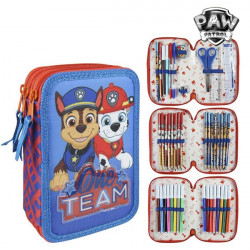Pochette à crayons triple The Paw Patrol 58485 Rouge