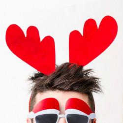 Reindeer Headband 144813 Red