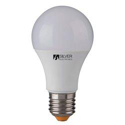 Spherical LED Light Bulb Silver Electronics 980927 E27 10W Warm light 5000K