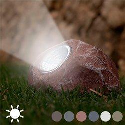 Dekorativer Solarstein Weiß