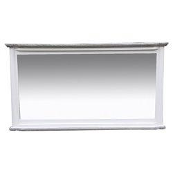 "Mirror Cora Wood ""110 x 6 x 60 cm"""