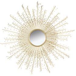 Mirror Sun Rays (120 x 120 x 3 cm)
