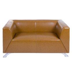 Zweisitzer-Sofa Elegant Elegant Polyskin (140 X 71 x 69 cm)