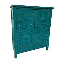 Armoire Blue Oriental (102 x 42 x 120 cm)