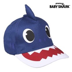 Cappellino per Bambini Baby Shark Azzurro (51 cm)