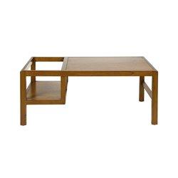 Tisch mit Kindersitz Mindiholz Playwood (120 X 60 x 50 cm) Braun