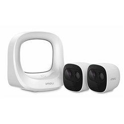 Videocamera di Sorveglianza Dahua KITWA1001300/2-B26EP WiFi (2 uds)