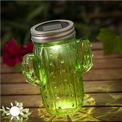 Lámpara Solar Cactus (1 LED)