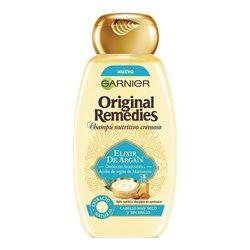 Shampoo Nutriente Elixir De Argán Original Remedies Fructis (300 ml)