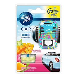 Car Air Freshener Fruta Tropical Ambi Pur (7 ml)