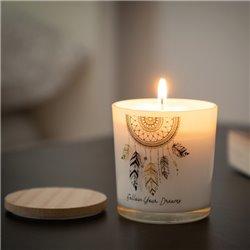 Dream Catcher Mandala Scented Candle