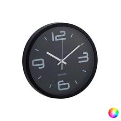 Wall Clock Analogue 143676 Black