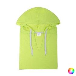 Felpa con Cappuccio Unisex 144719 S Giallo Fluorescente