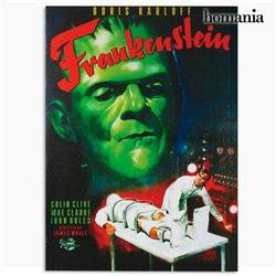 Foto de Frankenstein em tela de tecido 50 x 70