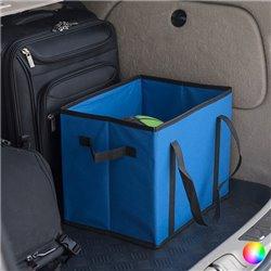 Folding Organiser for the Car 145624 Blue