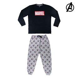 Pigiama The Avengers 74853 Azzurro Adulti XL