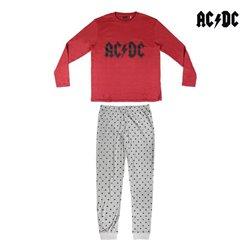 Pigiama AC/DC Adulto Grigio Bordeaux S
