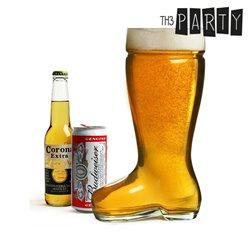 Bicchiere Birra Gigante a forma di Stivale