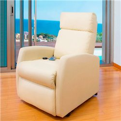 Komfortsessel mit Massagefunktion Cecotec Compact 6024