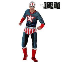 Costume per Adulti Supereroe XL