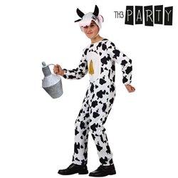 Costume per Bambini Mucca 5-6 Anni