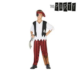 Costume per Bambini Pirata 5-6 Anni
