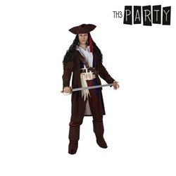 Costume per Adulti Pirata caraibico XL