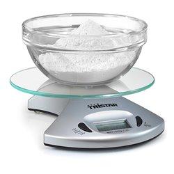 Tristar KW-2431 balança de cozinha Balança de cozinha eletrónica Prateado