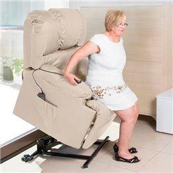 Fauteuil de Relaxation Lève-Personne avec Massage Cecotec 6012