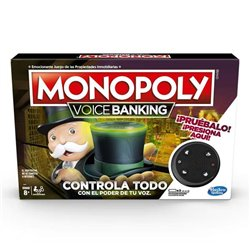 Gioco da Tavolo Monopoly Voice Banking Hasbro