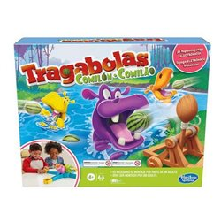L'Ippopotamo Hungry Hippo Launchers Hasbro (ES-EN)