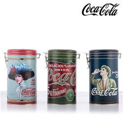 Boîte en métal rétro Coca-Cola