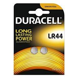 Batterie a Bottone Alcaline DURACELL DRBLR442 LR44 1.5V (2 pcs)