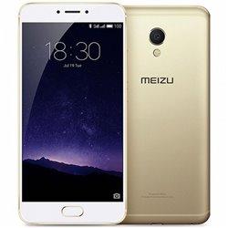 Meizu Smartphone MX6 5,5 Deca Core 3.0 GHz 32 GB 3 GB RAM 4G 3060 mAh Or