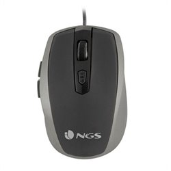 Mouse Ottico Mouse Ottico NGS Tick Silver USB Argento