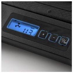 """Supporto per Portatile con Ventilatore NGS GCX-400 GCX-400 17"""" LED Nero Azzurro"""