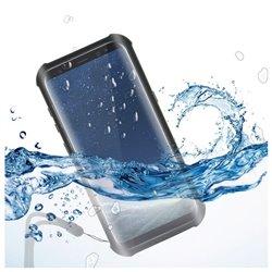 Custodia Subacquea Samsung Galaxy S8+ KSIX Aqua Case Nero Trasparente