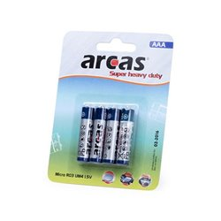 Batterie AAA/R03 1,5V (4 uds) 142309 AAA/R03