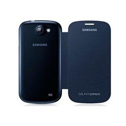 Custodia Folio per Cellulare Samsung Galaxy Express I8730 Azzurro