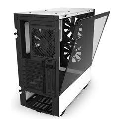 Casse Semitorre Micro ATX / Mini ITX / ATX NZXT H510 Elite LED RGB Bianco