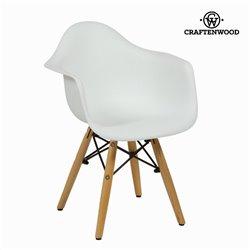Cadeira Infantil ABS Branco by Craftenwood