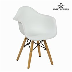 Chaise pour Enfant ABS Blanc by Craftenwood