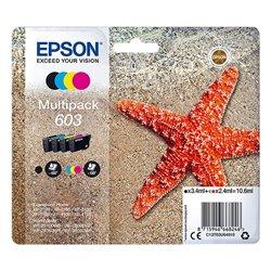 Cartuccia d'Inchiostro Originale (confezione da 4) Epson 603 Multipack