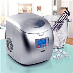 Princess 283069 120 W Máquina de fazer cubos de gelo embutida/independente Prateado