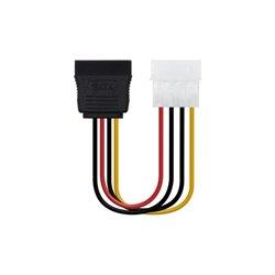 NANOCABLE Cable Alimentación SATA a Molex 10.19.0205-OEM