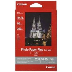 Carta fotografica Satinata Canon SG-201 10 x 15 cm 50 Foglie