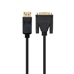 Adattatore di Rete DisplayPort a DVI Ewent EC1440 Nero 1 m