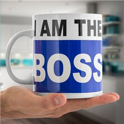 Tazza XL I am the Boss
